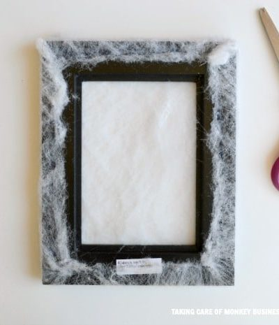 free spider photo frame at michaels crafts
